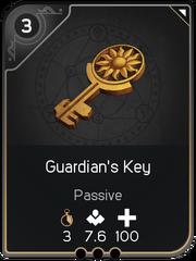 Guardian's Key card