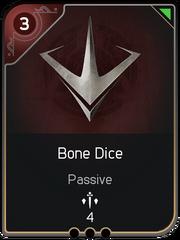 Bone Dice card