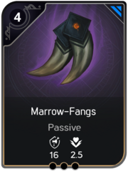 Marrow-Fangs card