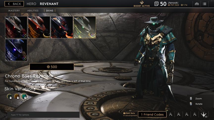 Revenant Marine Chrono Boss skin
