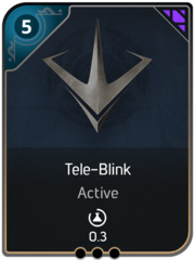 Tele-Blink card