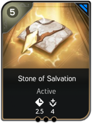 Stone of Salvation card