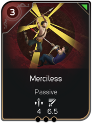 Merciless card