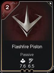 Flashfire Piston card