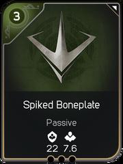 Spiked Boneplate card