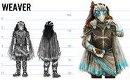 Weaver costume concept by lonsheep-dazwaro