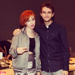 In the studio with Hayley Williams