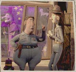 Sheriff with dwayne