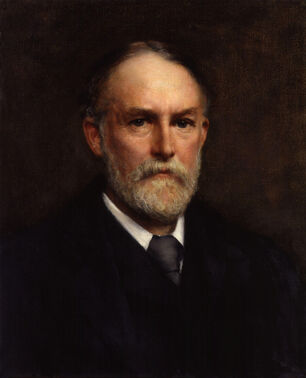 Frederic William Henry Myers by William Clarke Wontner