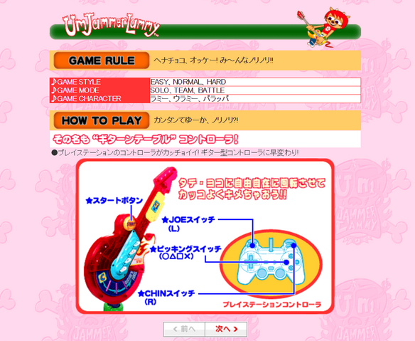 File:Namco UmJammer Lammy NOW 2.png