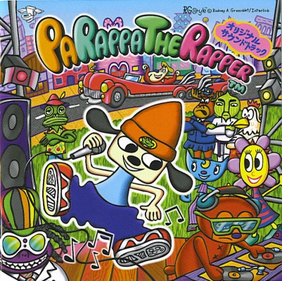File:Parappa The Rapper Original Soundtrack cover.jpg