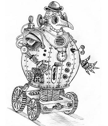 MechanicalFanArt Silvana