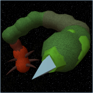 Space worm mutated