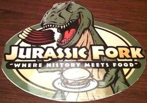 Jurassic Fork Menu