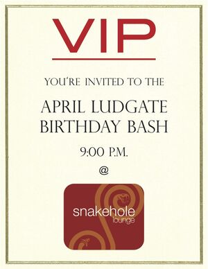 April Party Invite