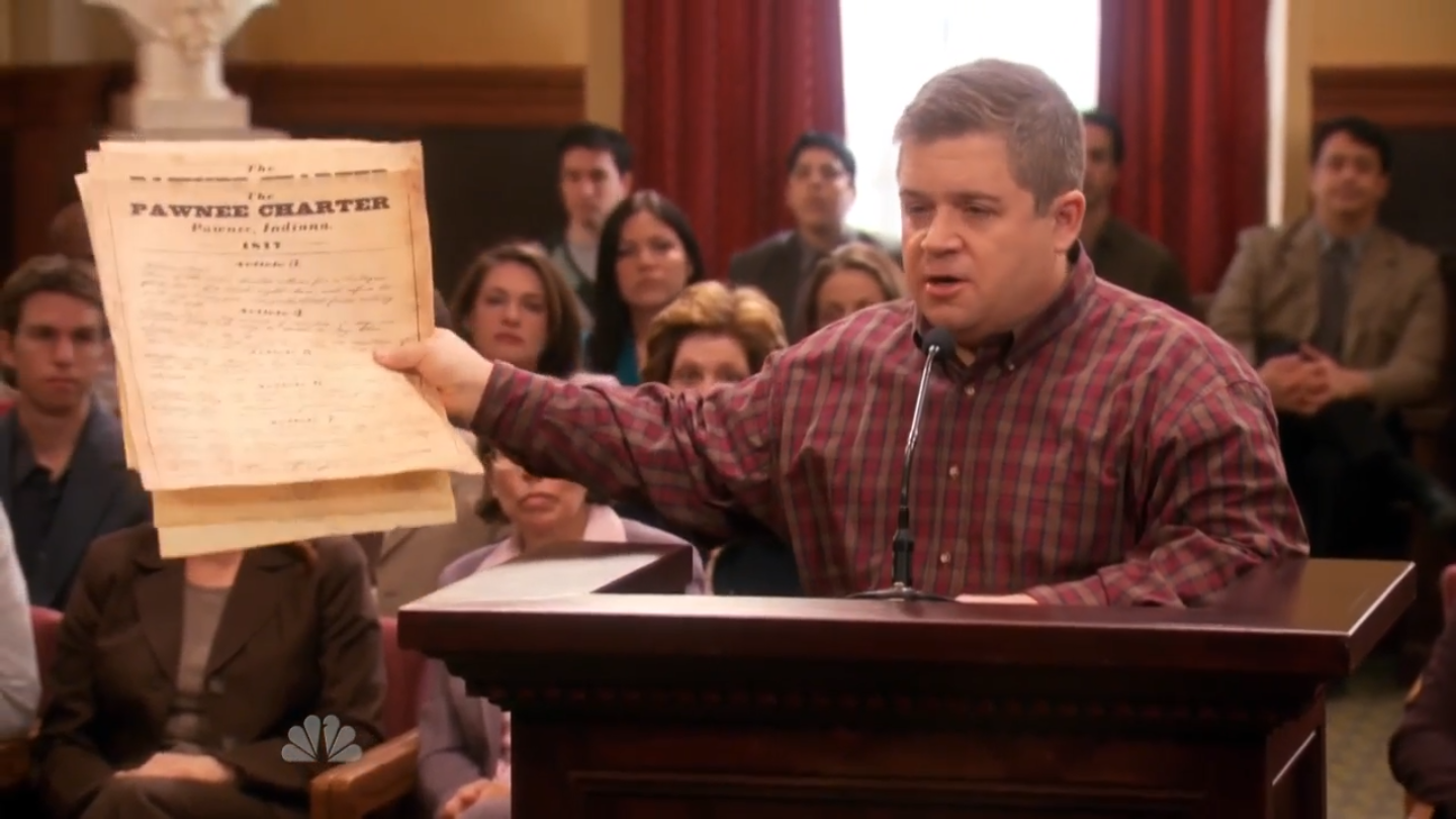 Article Two | Parks and Recreation Wiki | FANDOM powered by Wikia