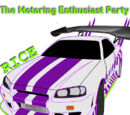 The Motoring Enthusiast Party