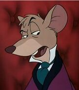 Basil of Baker Street in The Great Mouse Detective