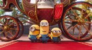 Kevin and minions at the hero day
