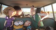 Walter and family minions