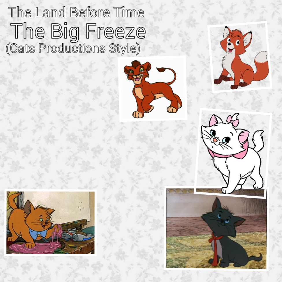 the land before time 8 the big freeze cats productions style