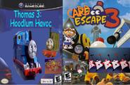 Thomas 3 and Card Escape 3.