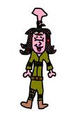 Rosie as Tily.