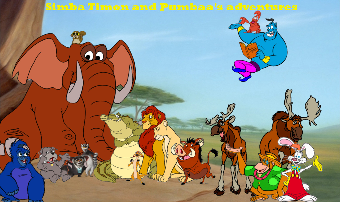 Simba Timon And Pumbaa S Adventures Series The Parody