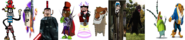 The Main Villains in Video Game Style Part 02.