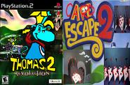Thomas 2 and Card Escape 2.