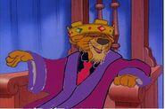 Prince john as fat cat