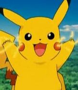 Pikachu in Pokemon Ranger and the Temple of the Sea