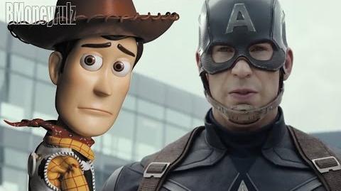 Disney Pixar's 'Captain America Civil War' (ORIGINAL) Mash-Up Trailer Parody