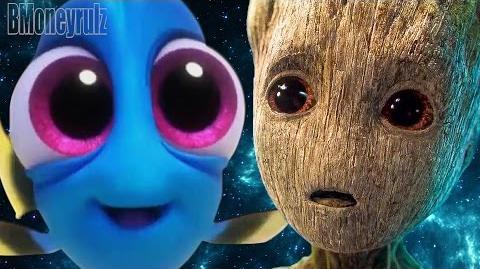 Disney Pixar's 'Guardians Of The Galaxy Vol 2' Mash-Up Trailer Parody