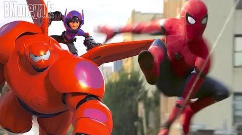 Disney Pixar's 'Spider-Man Homecoming' Mash-Up Trailer Parody