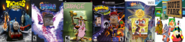 Thomas Arena, The Legend of Ten Cents 1, Courage, Theodore Bandicoot 4, RayBob ManPants 6, and South Park 6.