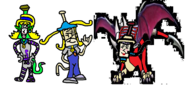 Emily as Ly the Fairy, Emily Vigorous as Coco Bandicoot, and Lillie Lightship as Cynder.