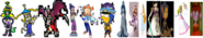 The Main Female Video Game Characters.