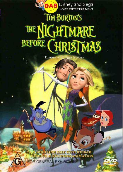 Image - The Nightmare Before Christmas (Disney and Sega Style ...