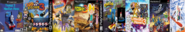 Thomas 3, Card Escape 3, Ten Cents 3, Arnold and Courage 3, Theodore Tugboat 3, Little Big Planet 3, Sly Simpson 3, and SSX 3.