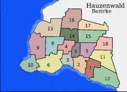 Hauzenwald-Bezirke