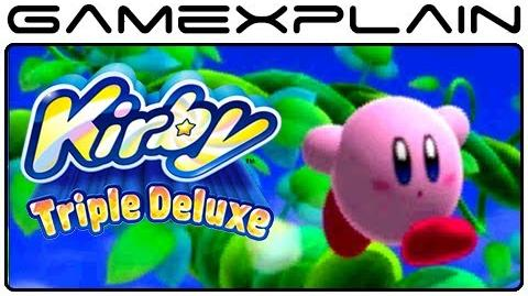 Kirby Triple Deluxe - Intro & Opening (Nintendo 3DS)