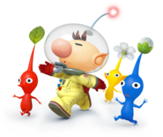 Pikmin and Olimar for SSB4