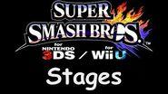 Super Smash Bros for Wii U 3DS - Stages