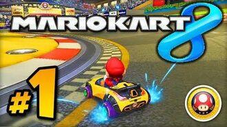 Mario Kart 8 GAMEPLAY - Part 1 w Ali-A! - Mushroom Cup 150cc (MK8 Wii U)