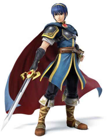 File:Marth for SSB4.png
