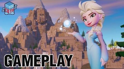 Disney Infinity Frozen ELSA Gameplay Commentary