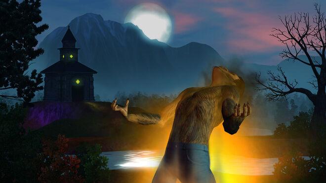 Ts3 supernatural werewolf transformation