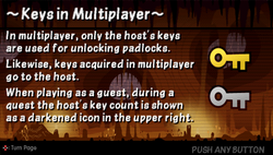 Keys in multiplayer