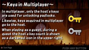 Keys in multiplayer